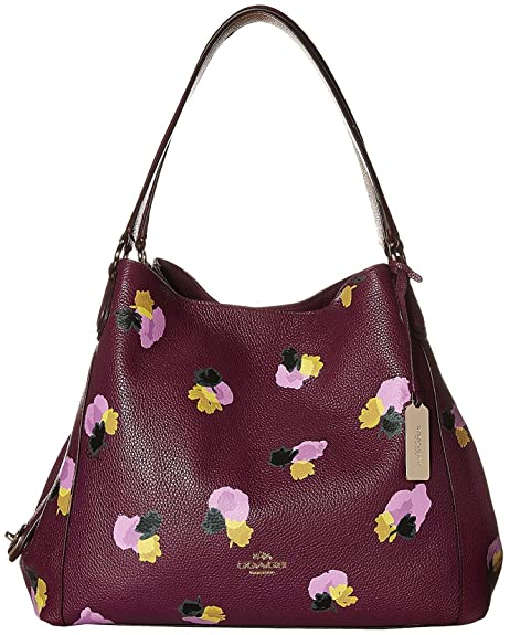 728489926df1 ... france coach edie shoulder bag 31 in floral print leather eabab 8f254  ...