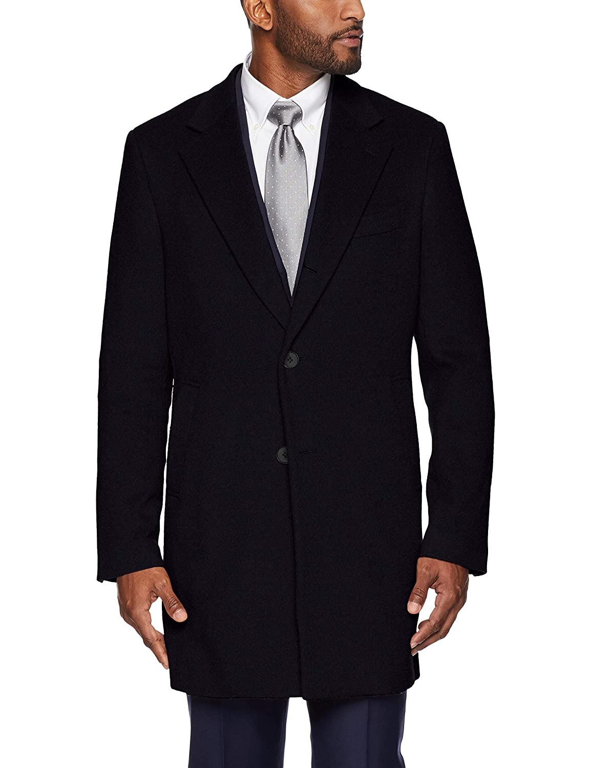 BUTTONED DOWN Mens Italian Wool Cashmere Overcoat Brand