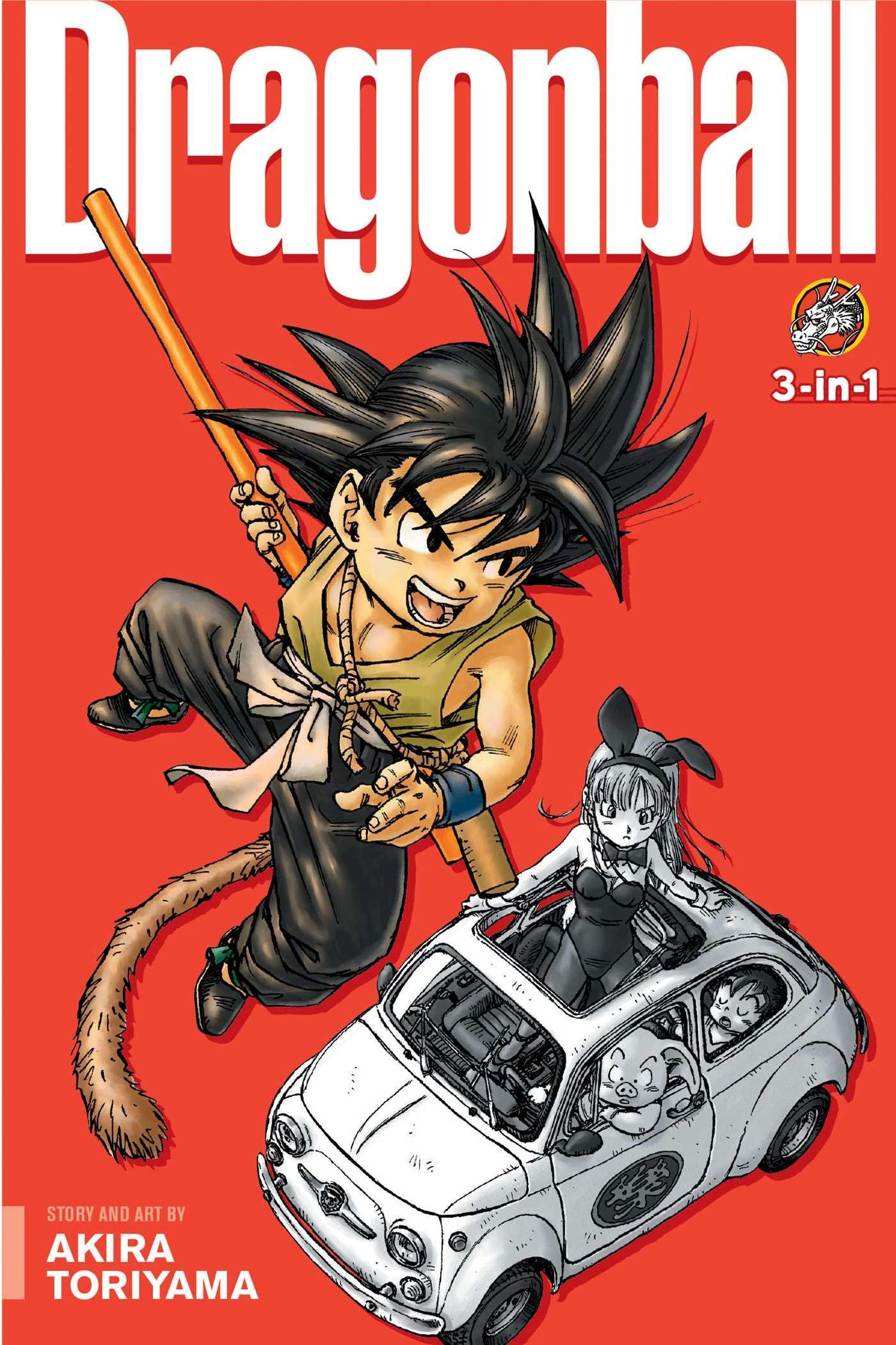 Dragon Ball 3 In 1 Edition Vol 1 Includes Vols 1 2 3 1 Toriyama Akira 9781421555645 Amazon Com Books