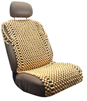All natural Premium Wood Bead Massage Seat Cover Cushion Auto Car fice Chair