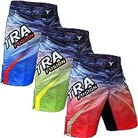 Mytra Fusion MMA Boxing Kickboxing Shorts Combat Shorts for Boxing MMA Muay Thai Fight Shorts Gym Training Workout BJJ Thai Trunks