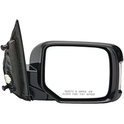 Dorman 955-1723 Passenger Side Power Door Mirror - Heated / Folding with Signal and Memory for Select Honda Models, Black: Automotive