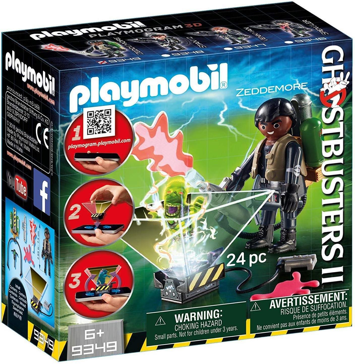 Playmobil 9349 - Ghostbusters II Winston Zeddemore: Amazon.es: Juguetes y juegos