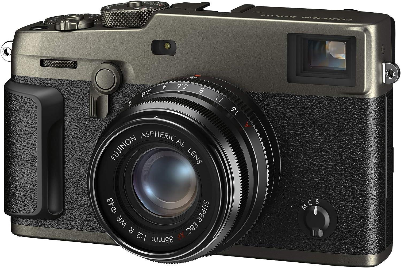 Renewed Body Only Dura Black Fujifilm X-Pro3 Mirrorless Digital Camera