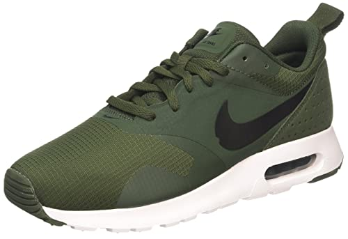 best service 4bccb 479dd Nike Air Max Tavas, Men s Trainers, Green (carbon Green black black