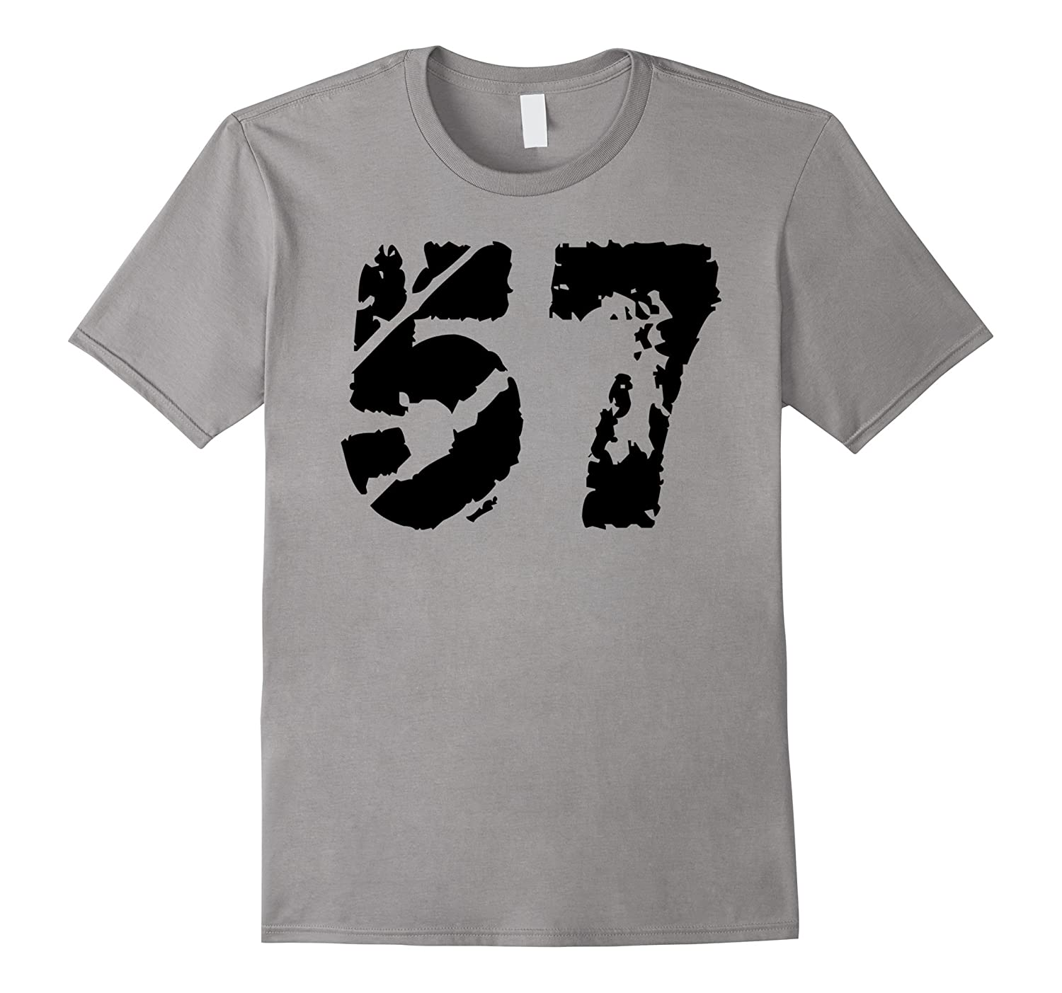 1957 T-Shirt distressed vintange Birthday 57 Tee-CD
