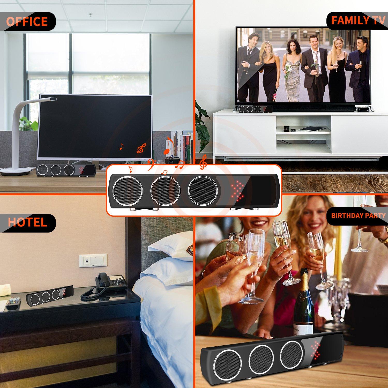 GSmade WiFi Oculto Cámara Altavoz Inalámbrico HiFi - IR Visión Nocturna Cámara espía Bajo Altavoz Mejorado Cámara IP 4K HD con detección de Movimiento Hi-Fi ...