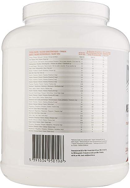 PBN - Sustitutivo de comidas, bote de 2.4 kg (sabor fresa): Amazon.es: Salud y cuidado personal
