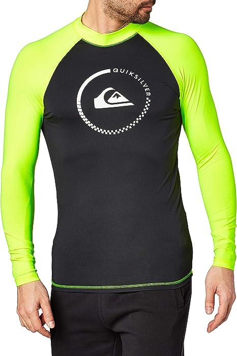 Quiksilver Mens Performer Short Sleeve Surf Tee Rashguard Quiksilver Young Men/'s Sportswear