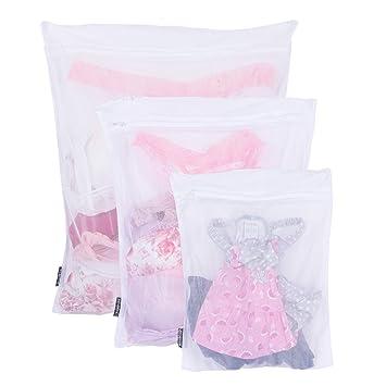 Amazon.com: Rack y gancho ropa bolsas de lavado para medias ...