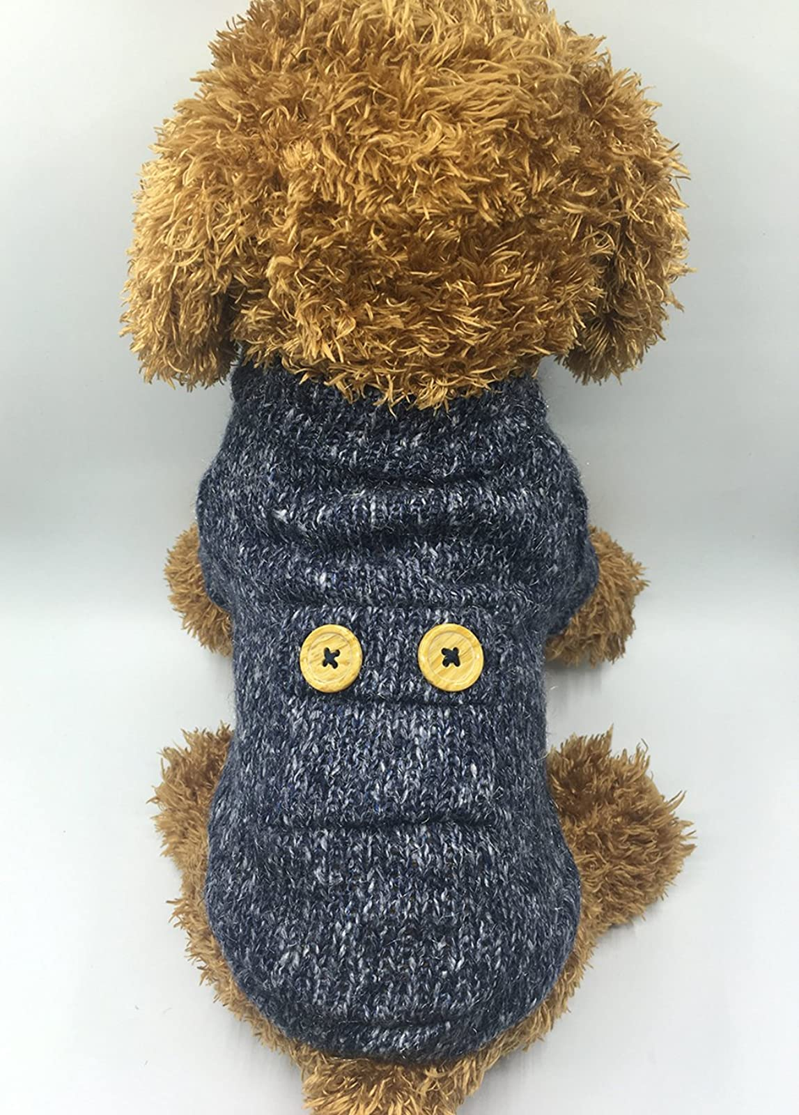 EastCities Pet SweatersSmall Dogs Cats Clothes Puppy - 3