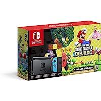 Consola Nintendo Switch Neon New Super Mario Bros U Deluxe (Full Download)