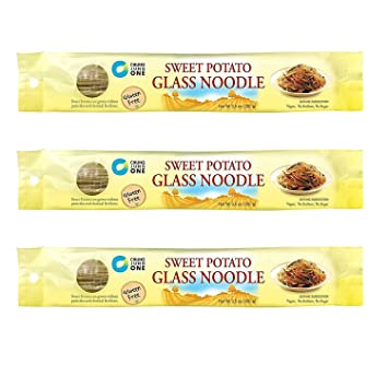 Chung Jung One Sweet Potato Glass Noodle 3 Pack (100 gram X 3)