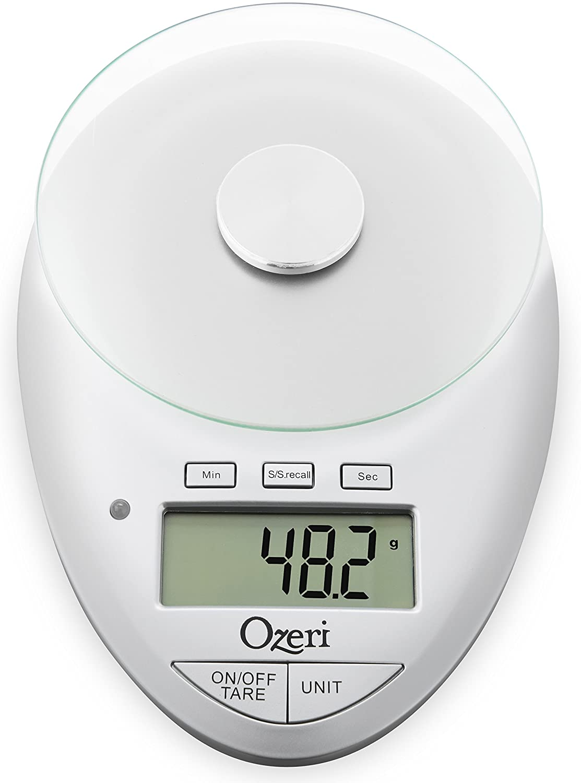 amazon com ozeri pro ii digital kitchen scale with removable glass
