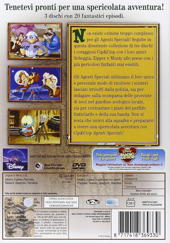 Cip Ciop Agenti Speciali Vol.1 (Box 3 Dvd)