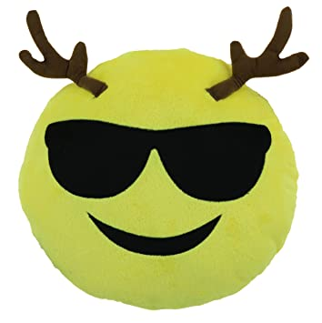 Amazon Emoji Cool Guy Reindeer Expression Smiley Face Emoticons