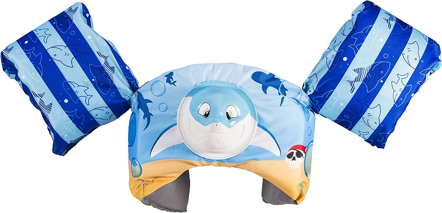USCG Approved Whale SwimWays Swim Trainer Squirter Life Jacket