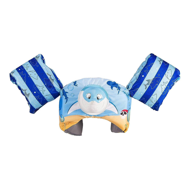 USCG Approved SwimWays Swim Trainer Squirter Life Jacket Shark