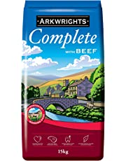 Gilbertson & Page Arkwrights Complete Dry Dog Food, Beef, 15 kg