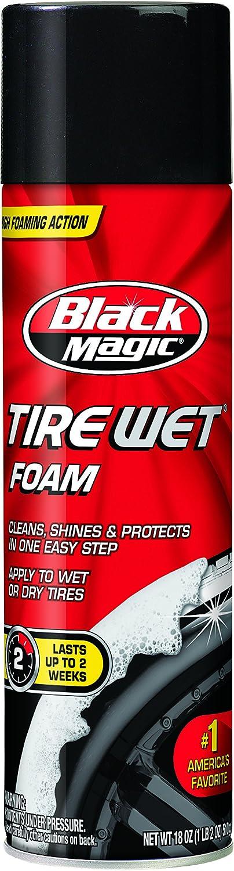 Black Magic 800002220 Tire Wet Foam, 18 oz.: Automotive