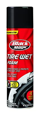 Black Magic 800002220 Tire Wet Foam, 18 oz.