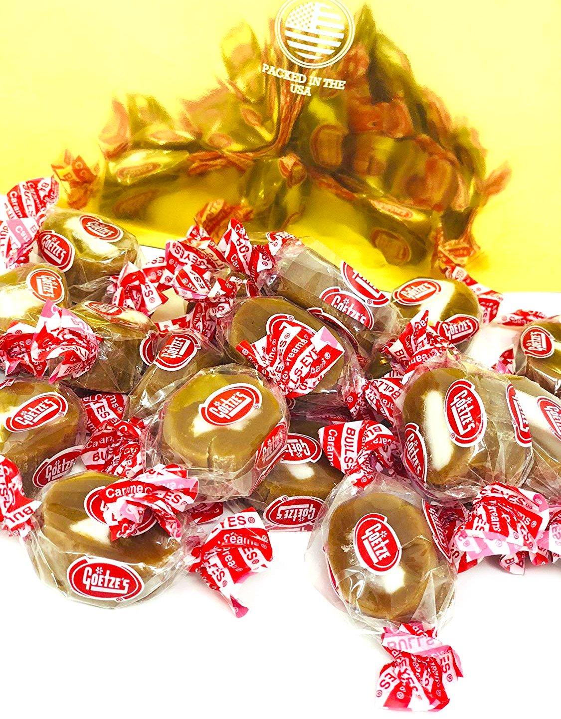 Goetze's Original Vanilla Caramel Creams - Retro Candy (4Lb)