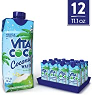 Vita Coco Coconut Water, Pure Organic | Naturally Hydrating Electrolyte Drink | Smart Alternative To Coffee, Soda, & Sports D