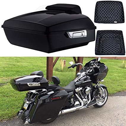 Shop For Cheap Choppde Lock Cover Tour Pak Kits For Harley Touring Ultra Glide Road King Electra Glide 88-13 Locks & Latches Motorcycle Accessories & Parts