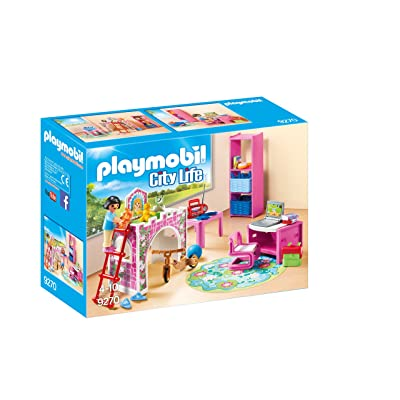 PLAYMOBIL Children's Room Building Set: Toys & Games