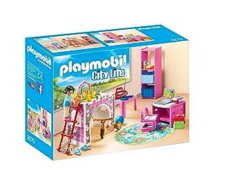 Amazon.com: Playmobil Set de construcción de la habitación ...
