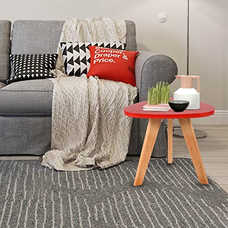 amazon com vividy mini triangle side table portable coffee round