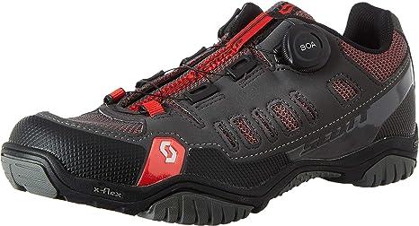 Zapatillas MTB Scott Crus-R Boa Antracita-Rojo Talla 44: Amazon.es: Deportes y aire libre