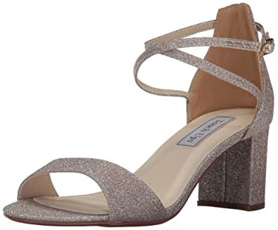 33d0488a2da Touch Ups Women s Jackie Heeled Sandal Champagne 5 ...