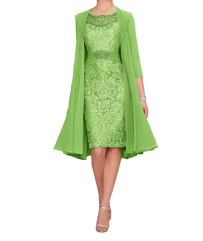 Charmant Damen Elegant Lila Chiffon Abendkleider Brautmutterkleider ...