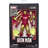 Marvel Classic Legends 80th Anv 6 series Vintage Comic Inspired Iron Man Collectible Action Figure, 6-Inch