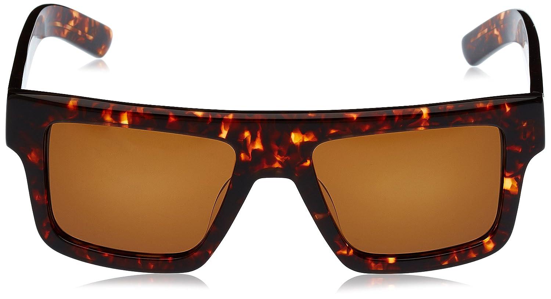 Inconnu 100% Bowen Sonnenbrille Tortoise New Glas, braun