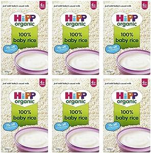 (6 Pack) - Hipp - Baby Rice   160g   6 Pack Bundle