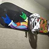 YYST Stainless Steel Snowboard Wall Rack