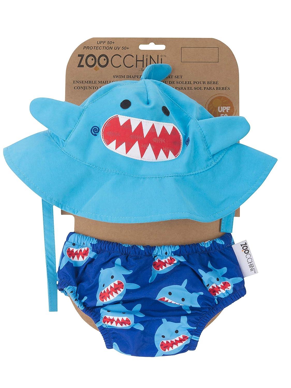Zoocchini maillot//sombrero dise/ño de peces 3-6/meses