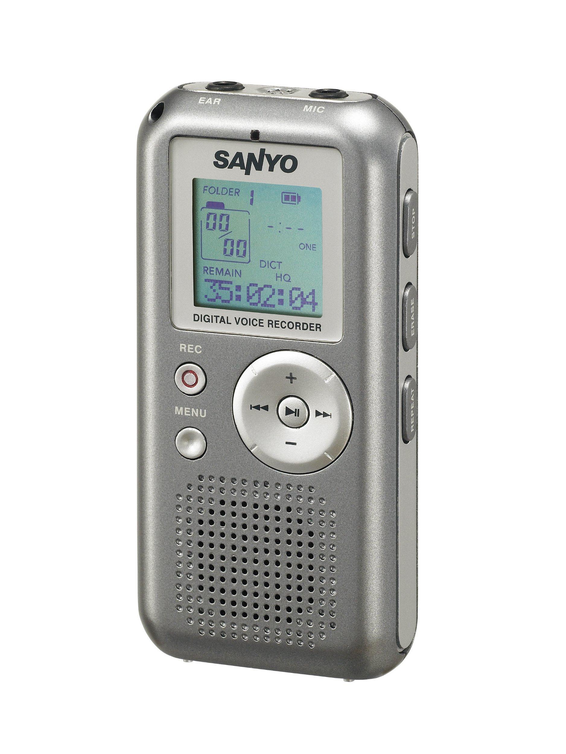 Sanyo Sanyo Digital Voice Recorder Built-In Memory 1Gb