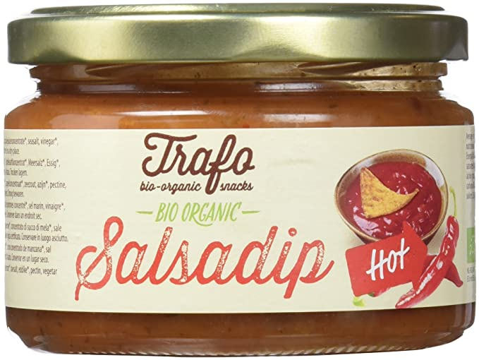 Trafo Salsa Dip Picante - Paquete de 6 x 200 gr - Total: 1200 gr
