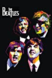 Athah Designs The Beatles Fine Quality Wall Poster