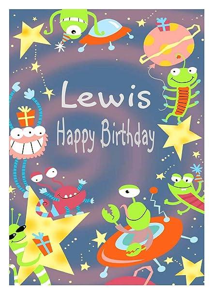 Tarjeta de cumpleaños de Lewis: Amazon.es: Oficina y papelería