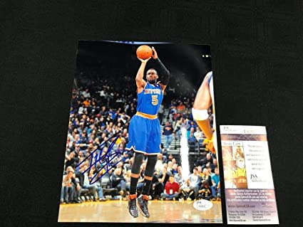 bf60db5d290 Image Unavailable. Image not available for. Color: Tim Hardaway Jr. New  York Knicks Autographed ...