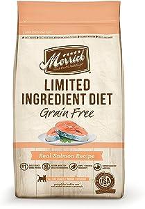 Merrick Grain Free Limited Ingredient Diet Salmon Recipe 7.0 lb Bag