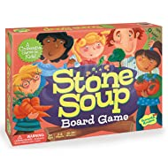 Peaceable Kingdom Stone Soup Award Winning Cooperative Matching Game for Kids