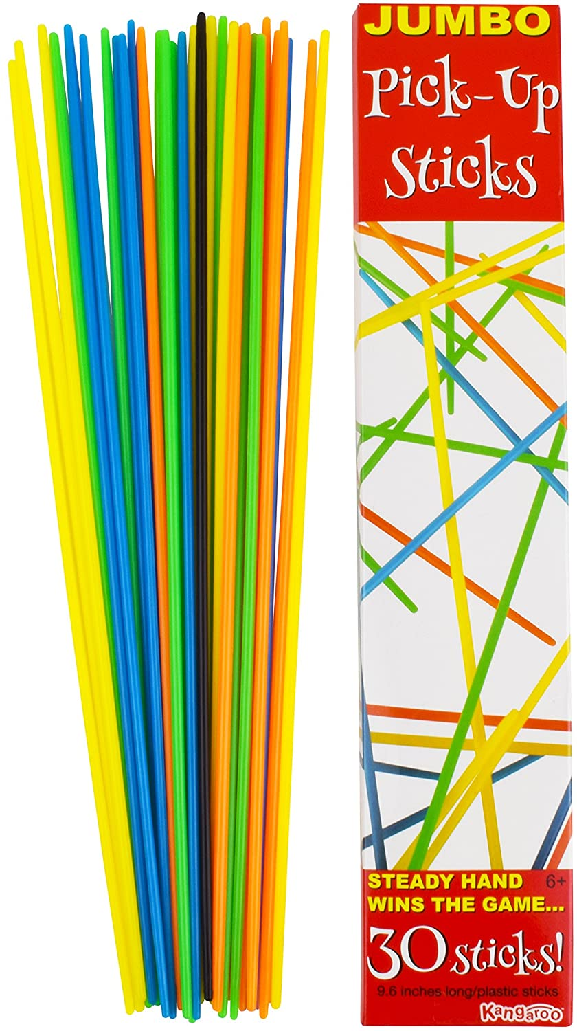 Toysmith 41-Piece Pick-Up Sticks Game 1-Pack