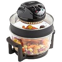 VonShef Premium 12L Black Halogen Air Fryer Oven 1400W