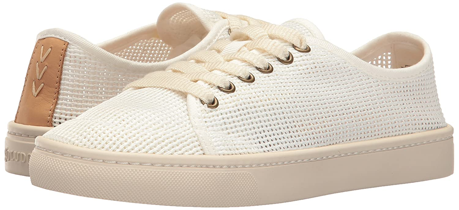 Soludos Womens Mesh Lace-up Fashion Sneaker