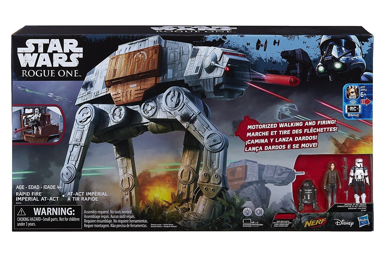 Star Wars Rogue One Rapid Fire Imperial AT-ACT